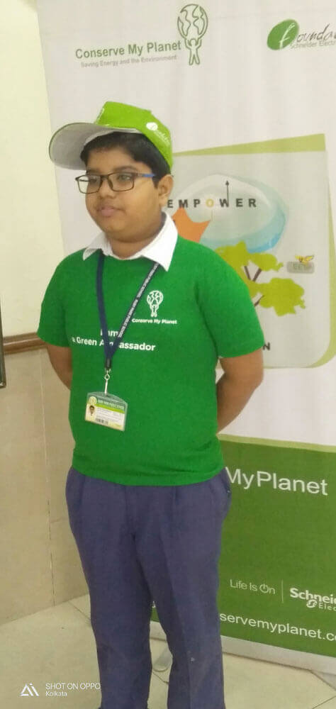 "Workshop on ""Conserve My Planet"""