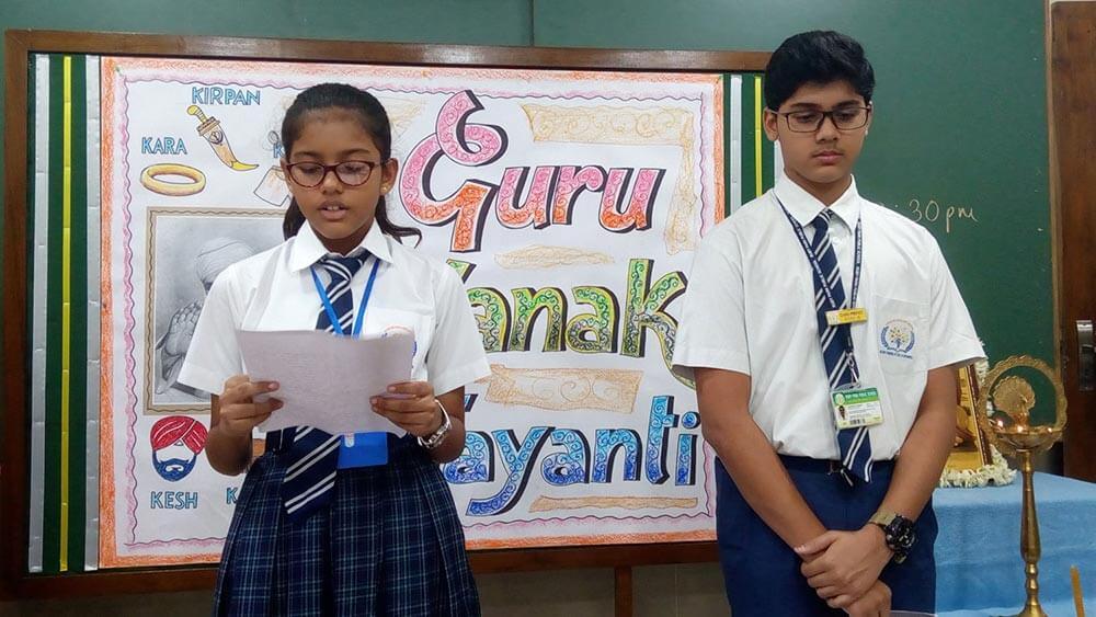 Guru Nanak Jayanti Special Assembly at RPPS