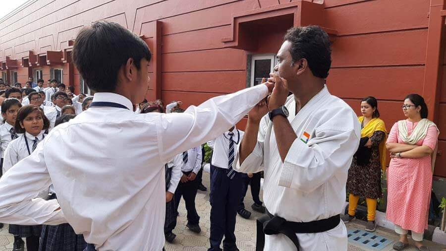 Workshop on Karate Training and Self Defense