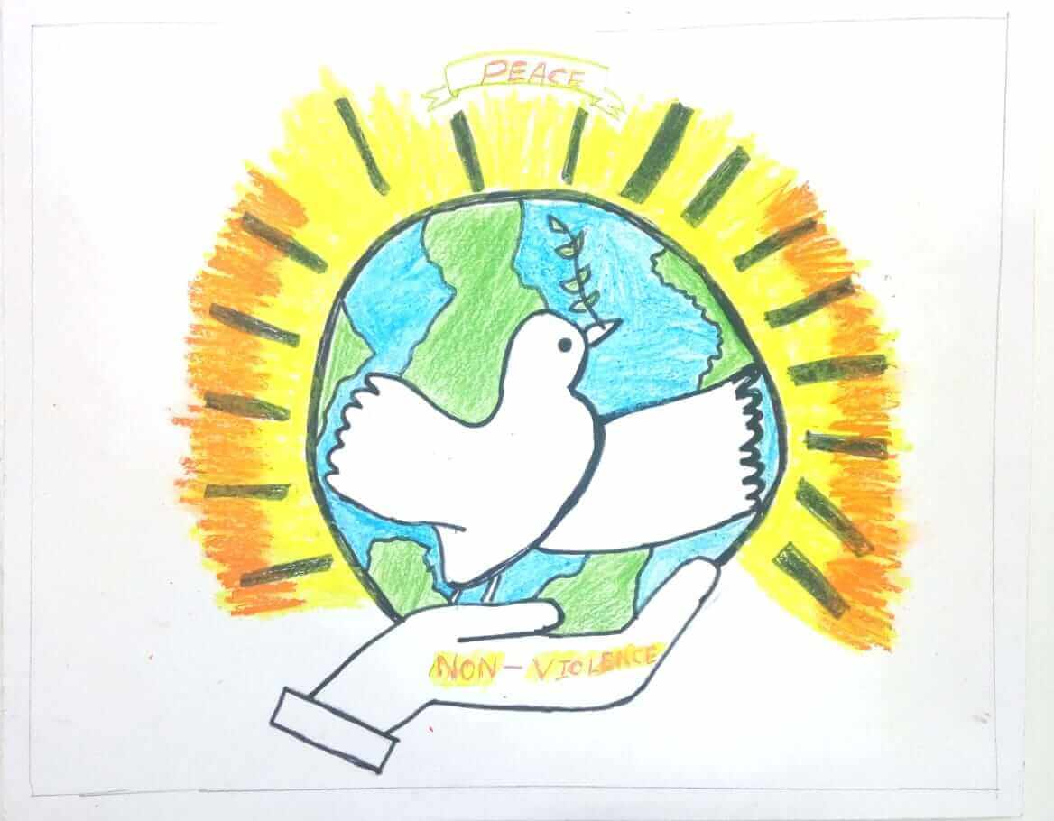Poster Making Competition on Non Violence