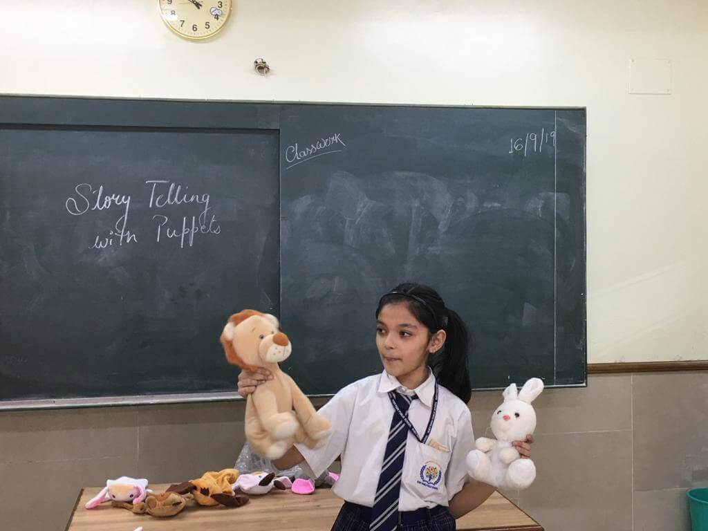 Story-Telling with Puppets