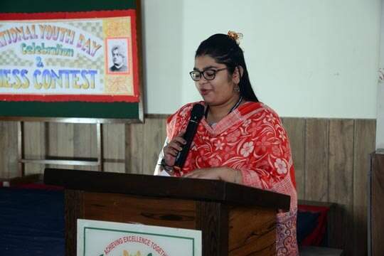 National Youth Day Celebration by RPPS Students